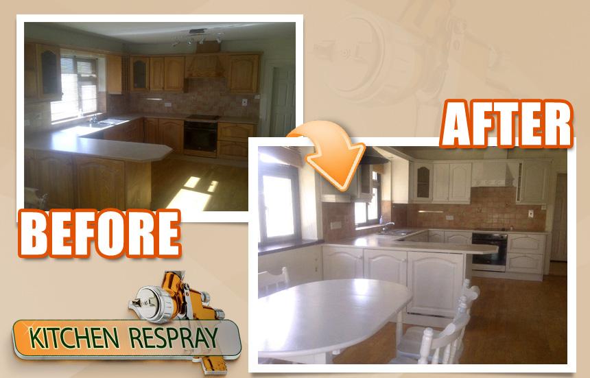kitchen respraying   Kitchen Respray