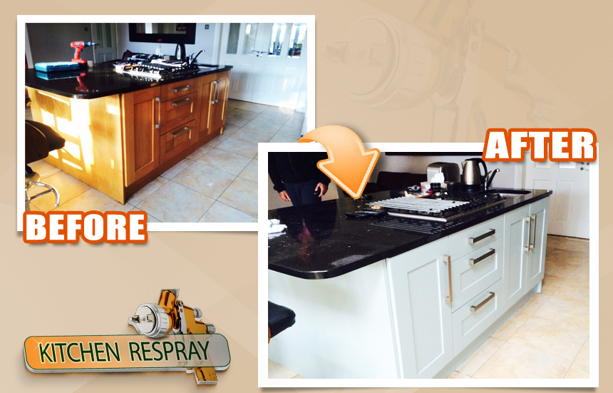 Kitchen Respray Green Gage