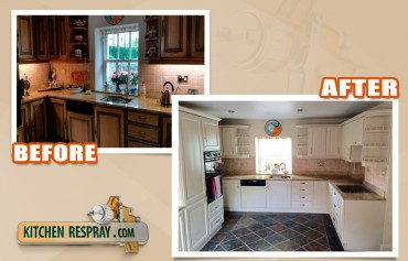 The Steps Involved in Getting Your Kitchen Resprayed