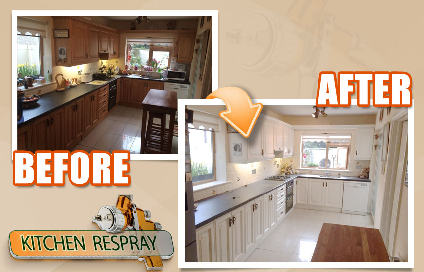 Dublin South Dublin Kitchen Respray Kitchen Respray In Swords Co