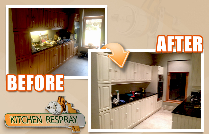 Kitchen Respray wicklow