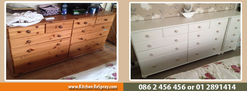 Chest of Drawers Respray, Swords