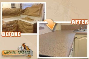 Kitchen countertop resurfacing Dublin