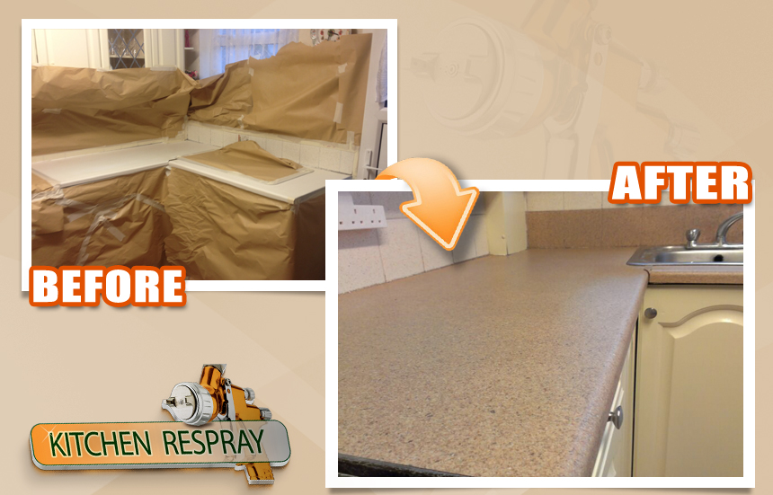 Kitchen Countertop Respray In Dublin Countertop Refinishing