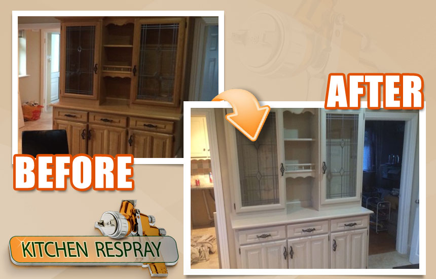 Kitchen Dresser Respray