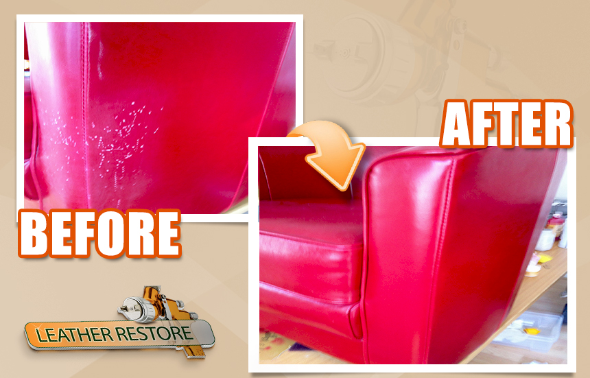 Natuzzi Leather Sofa Repair. After Restoration Fading Restored Leather. B 760 Leather Sofa By ...