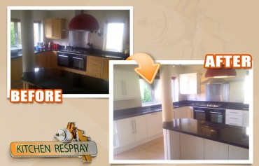 Respray your Kitchen in Dublin
