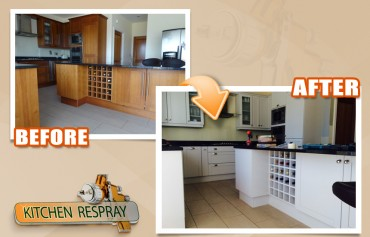 Kitchen Respray Will Rejuvenate Your Kitchen