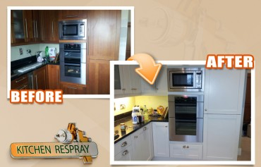Have you considered a kitchen respray?