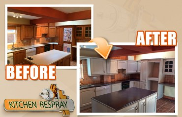The Kitchen Respraying Procedure: A Step by Step Guide
