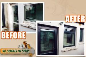 PVC respray windows and doors Dublin