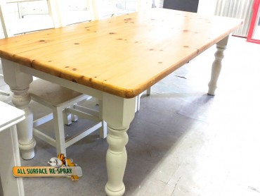 Furniture Spray Painting Restoration