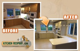 Quality of Kitchen Respraying