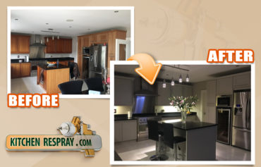 Outsource painting kitchen cabinets