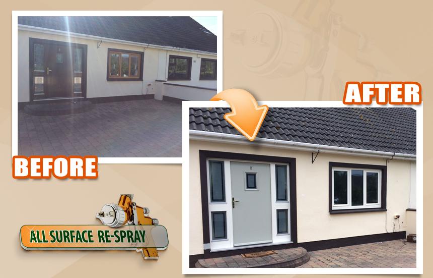 PVC Door and window respray