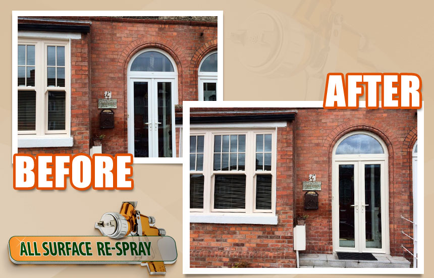 Upvc All Surface Respray